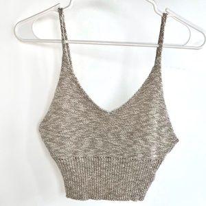 Tops - Knit Crop Top Cami